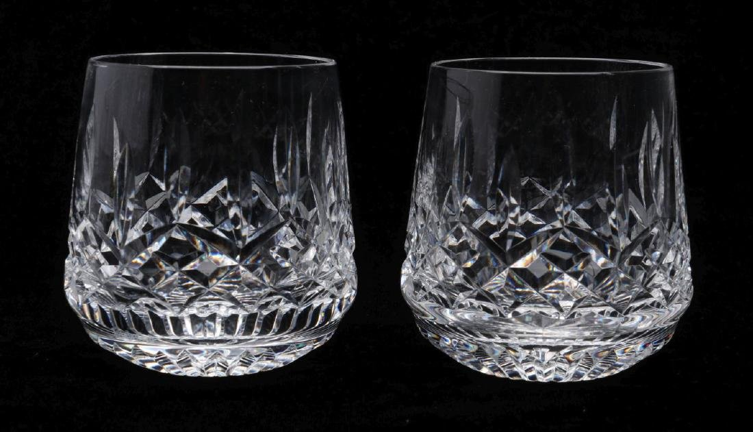 SIX WATERFORD 'LISMORE' CUT CRYSTAL PIECES - 5