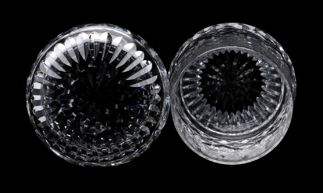 SIX WATERFORD 'LISMORE' CUT CRYSTAL PIECES - 6