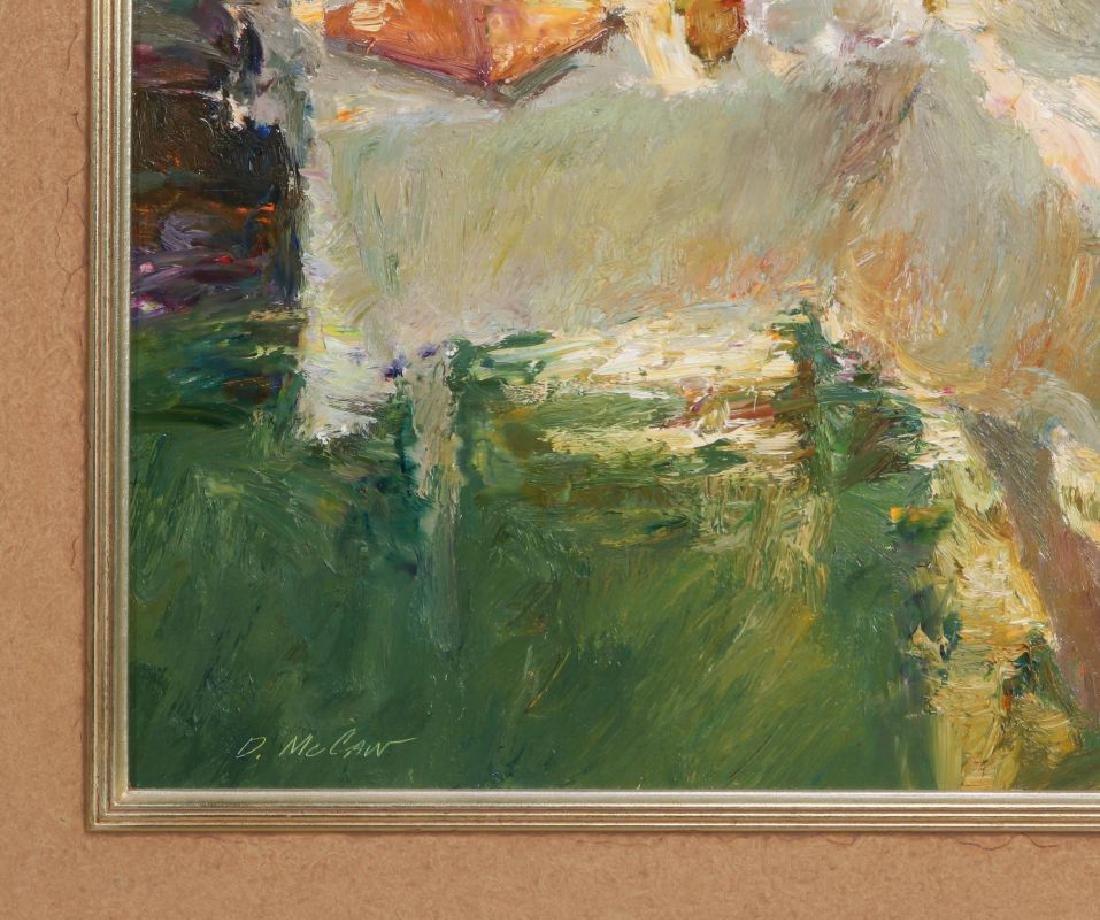 DAN McCAW (BORN 1942) OIL ON PANEL - 6