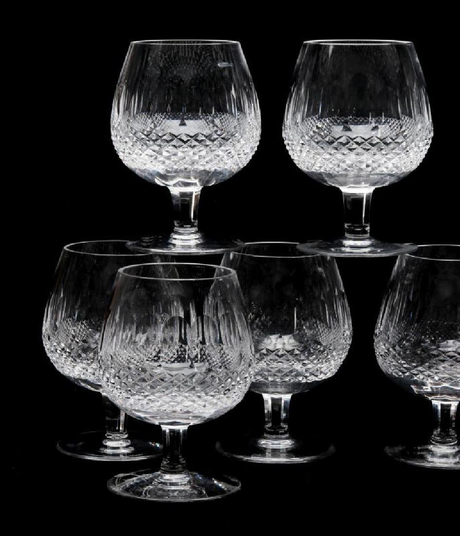 NINE WATERFORD 'COLLEEN' LARGE BRANDY GLASSES - 3