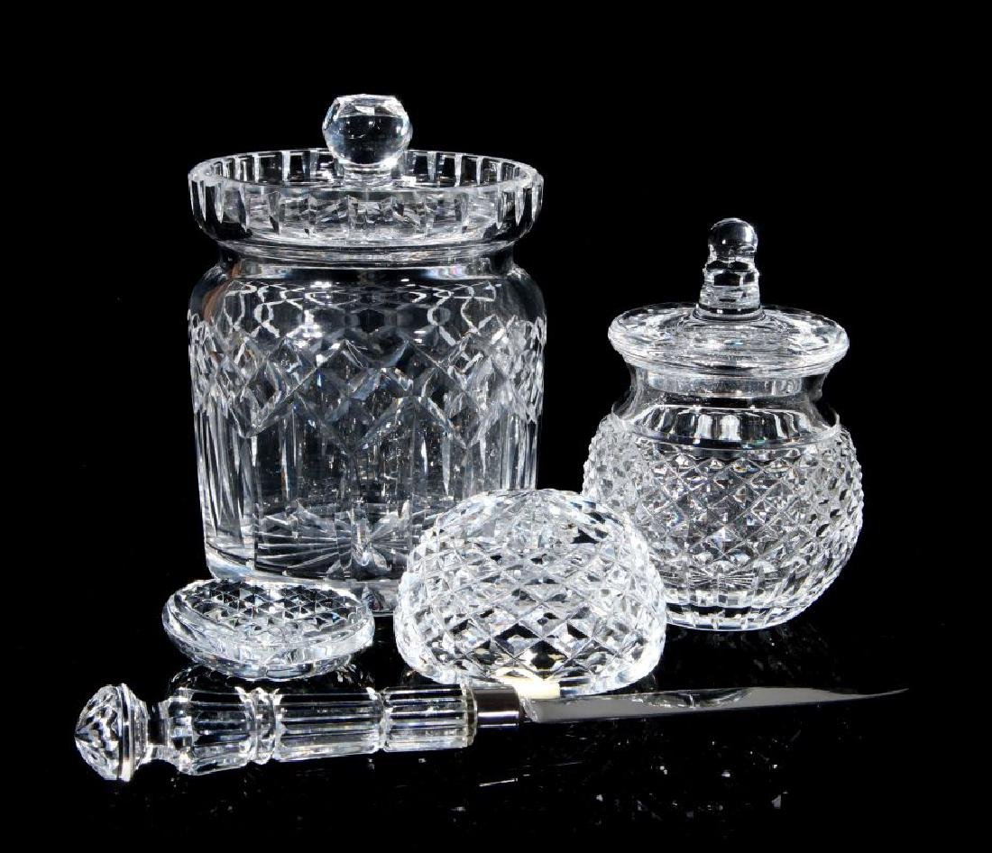 A COLLECTION OF WATERFORD CRYSTAL