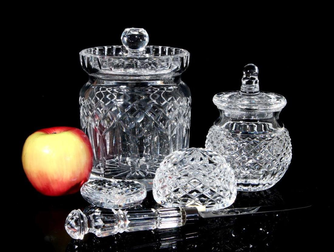 A COLLECTION OF WATERFORD CRYSTAL - 2