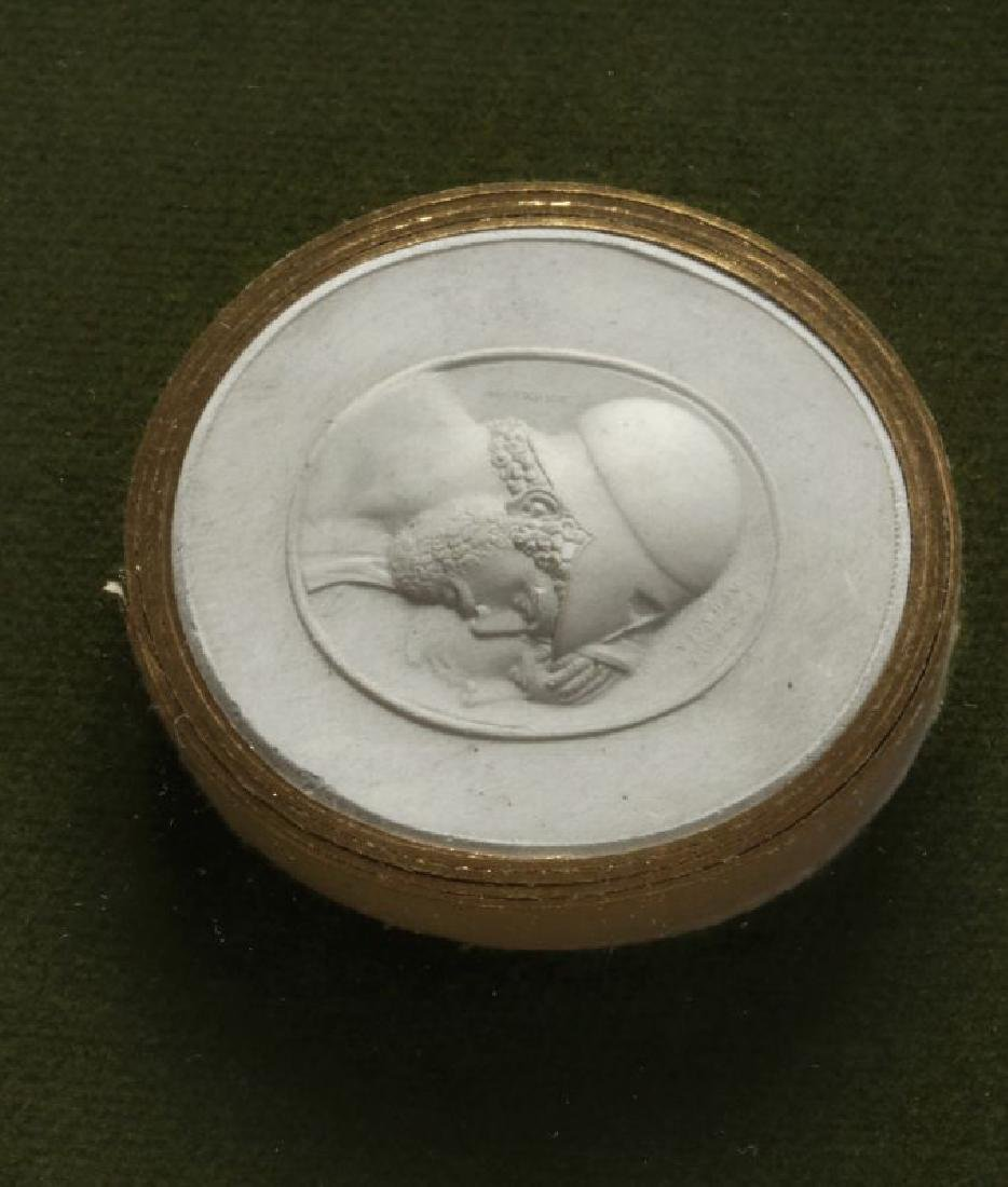 A COLLECTION OF ANTIQUE PLASTER INTAGLIOS - 2