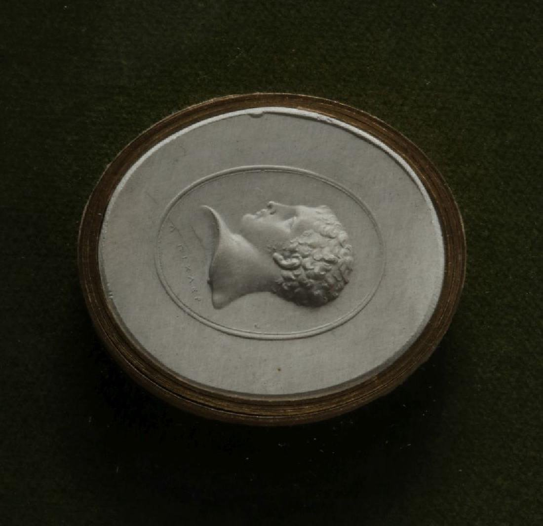 A COLLECTION OF ANTIQUE PLASTER INTAGLIOS - 3