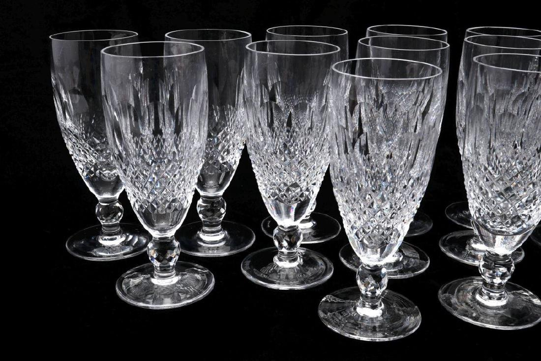 THIRTEEN WATERFORD 'COLLEEN' CHAMPAGNE FLUTES - 3