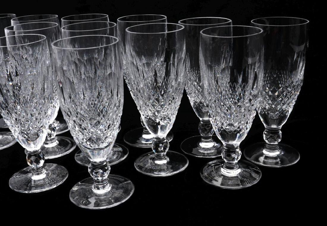 THIRTEEN WATERFORD 'COLLEEN' CHAMPAGNE FLUTES - 4