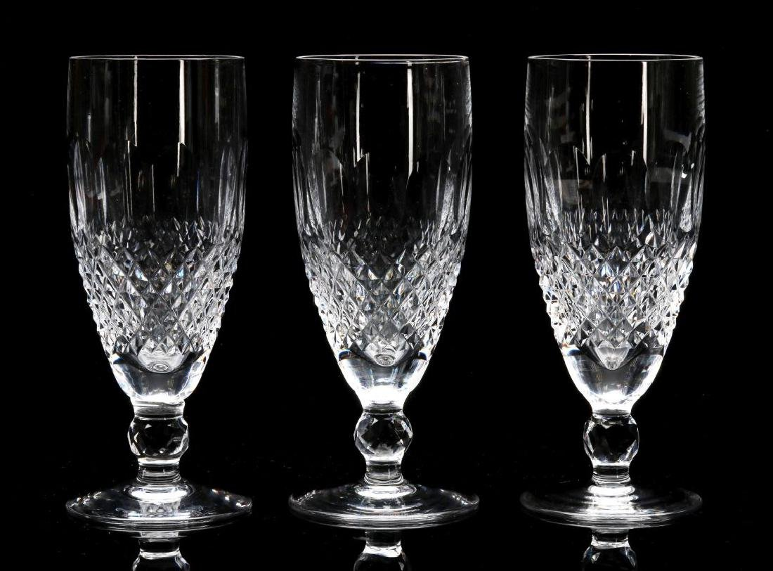 THREE WATERFORD 'COLLEEN' FLUTED CHAMPAGNES