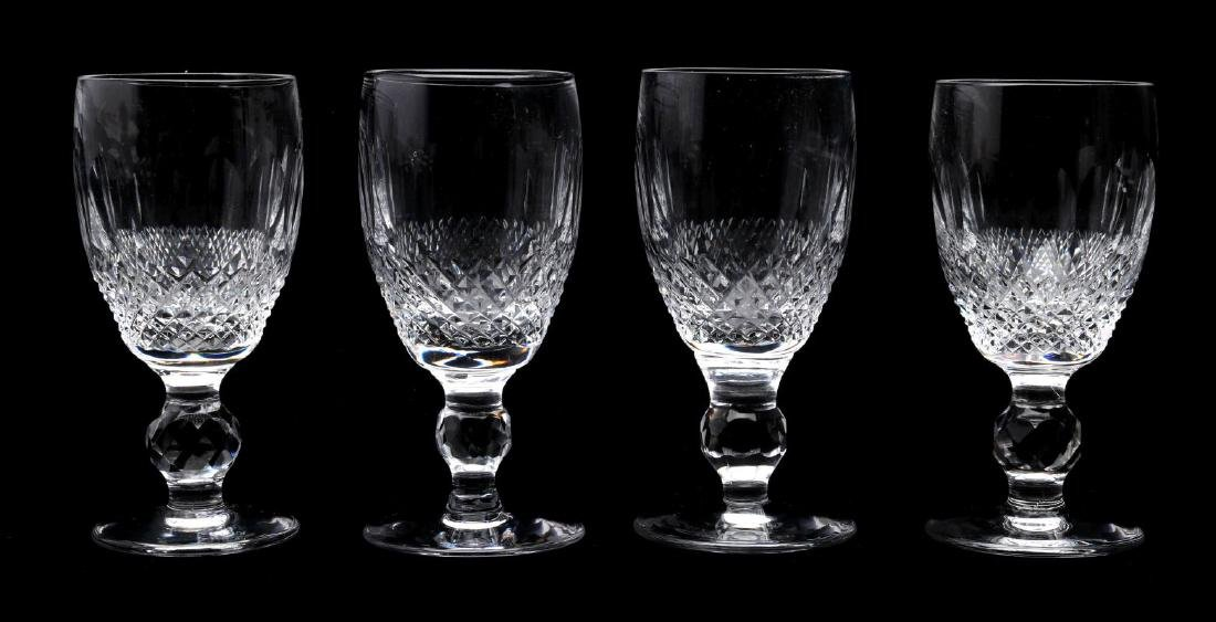 WATERFORD 'COLLEEN' SHERRY AND CORDIAL GLASSES