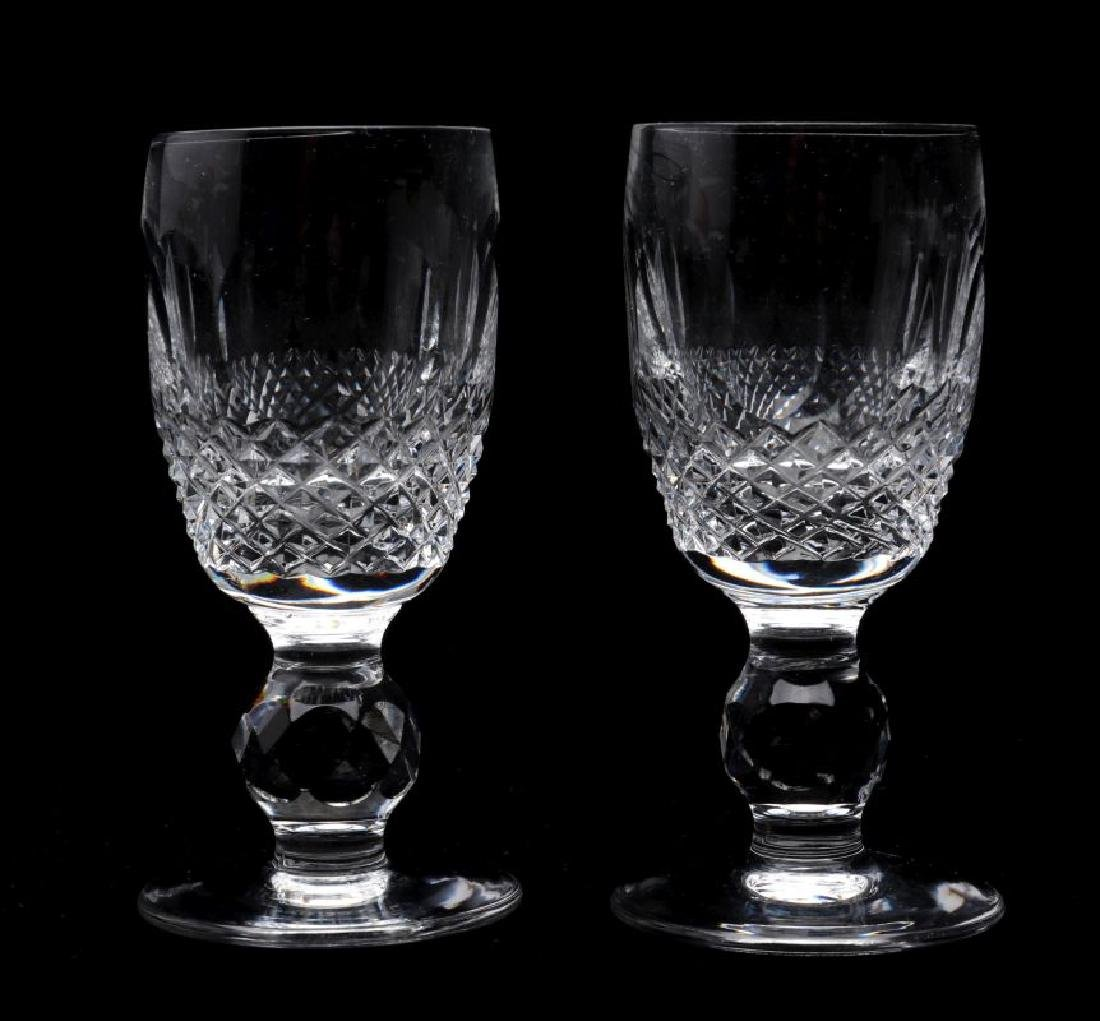 WATERFORD 'COLLEEN' SHERRY AND CORDIAL GLASSES - 2