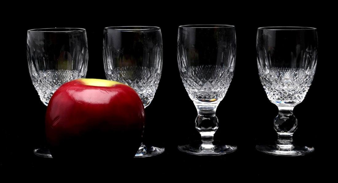 WATERFORD 'COLLEEN' SHERRY AND CORDIAL GLASSES - 5