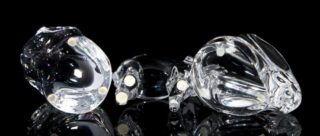 A COLLECTION OF ORREFORS CRYSTAL DECOR - 9
