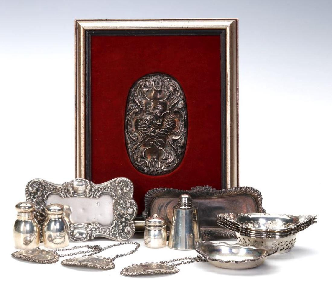 UNGER BROTHERS AND OTHER SMALL STERLING ARTICLES