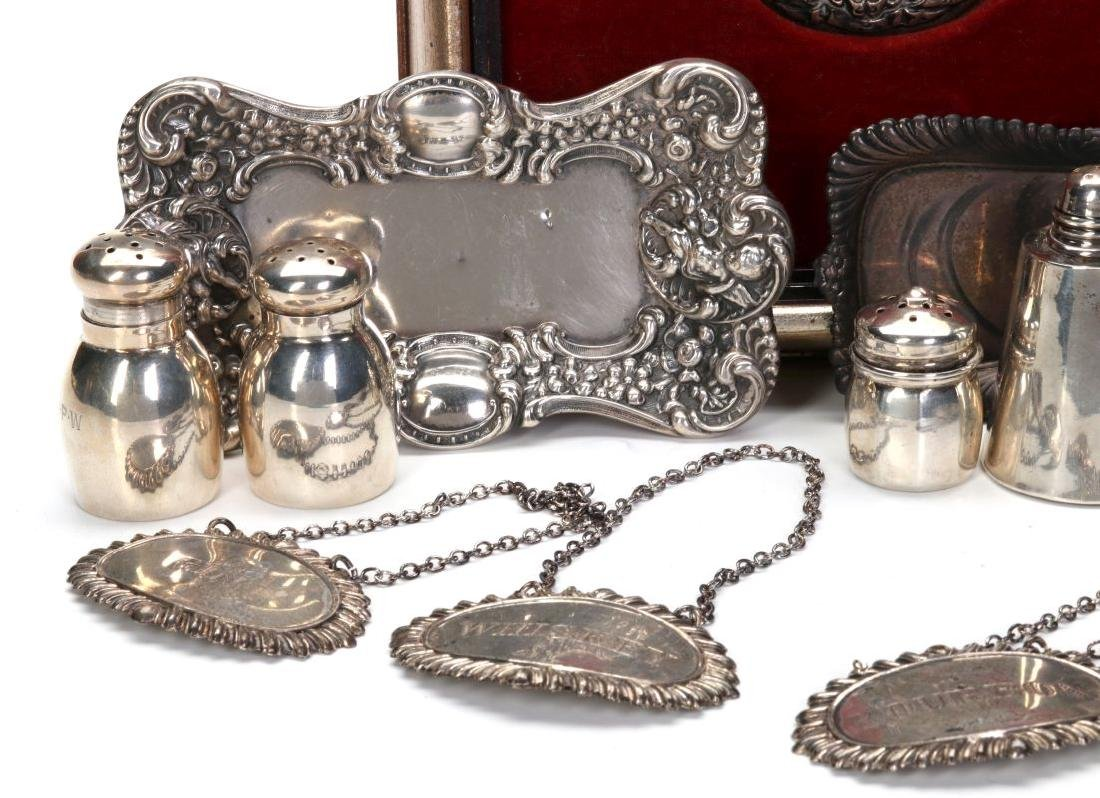 UNGER BROTHERS AND OTHER SMALL STERLING ARTICLES - 4