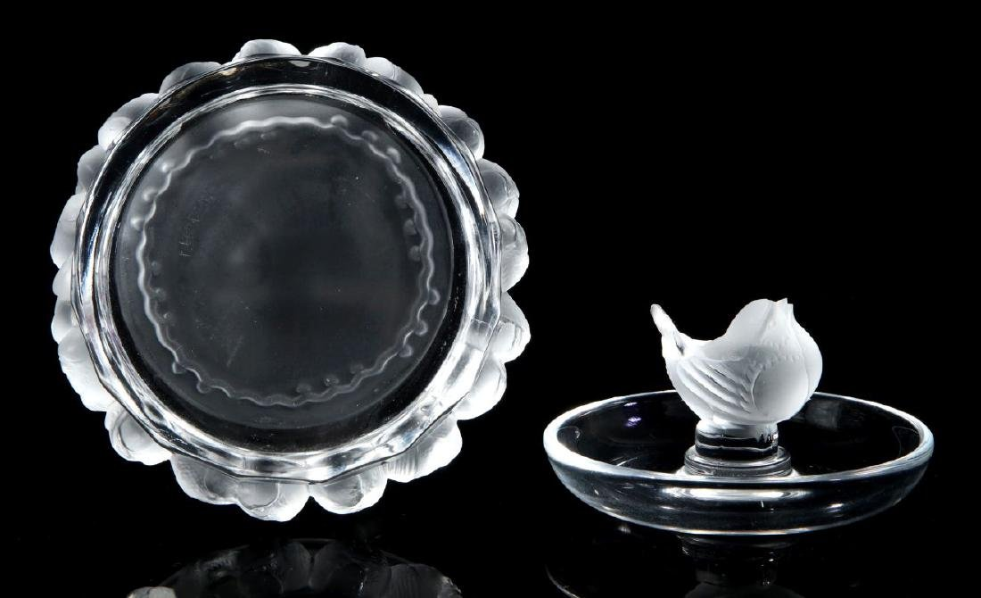A COLLECTION OF LALIQUE CRYSTAL ITEMS - 3