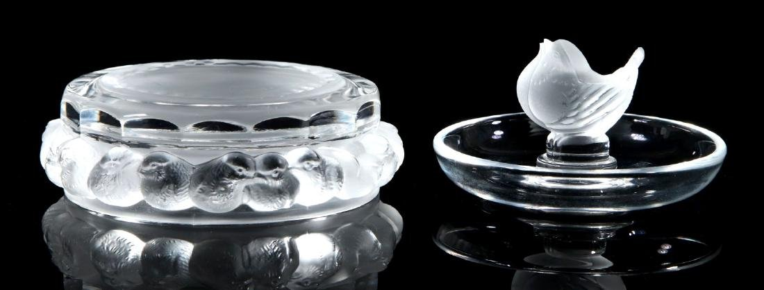 A COLLECTION OF LALIQUE CRYSTAL ITEMS - 4
