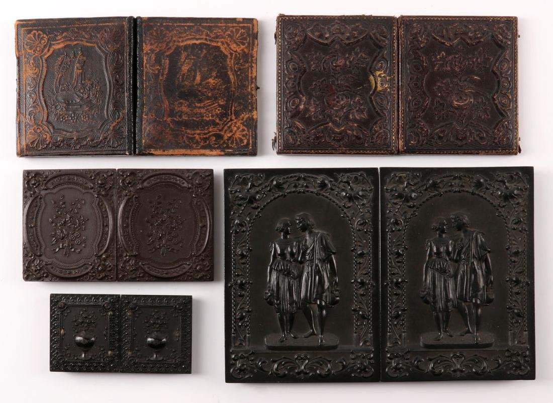 A COLLECTION OF 19TH C. IMAGES AND UNION CASES - 6