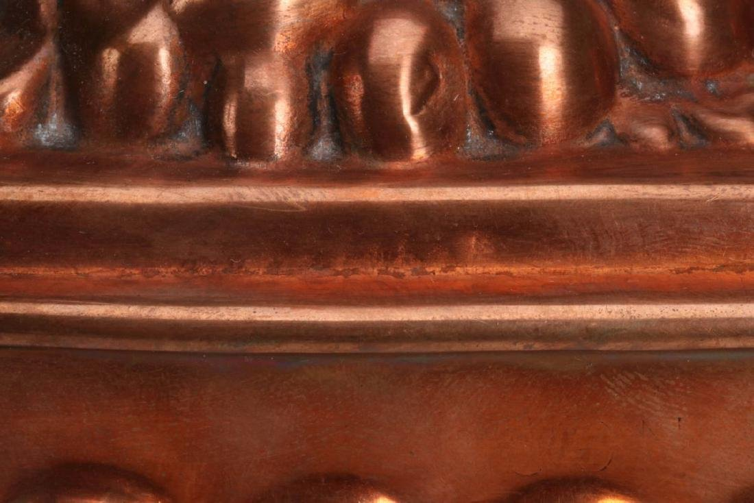 TWO ANTIQUE COPPER FOOD MOLDS - 5