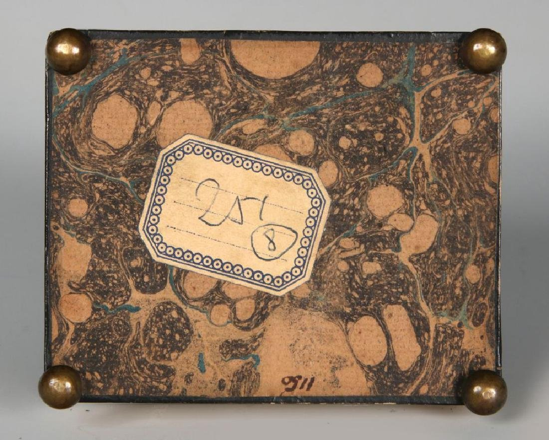 PEARL CALLING CARD CASE AND FRENCH DRAGEES BOXES - 8