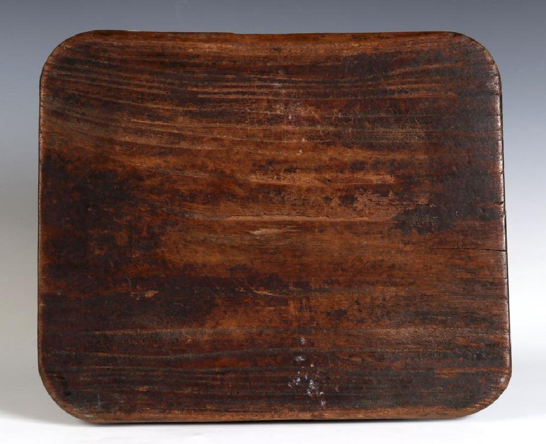 AN ANTIQUE WOODEN SPRINGERLE COOKIE MOLD - 7