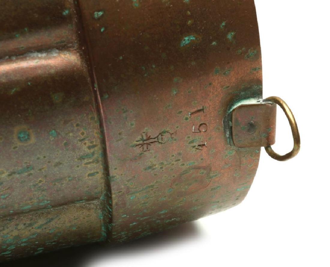 AN ANTIQUE COPPER MOLD SIGNED BENHAM & FROUD - 6