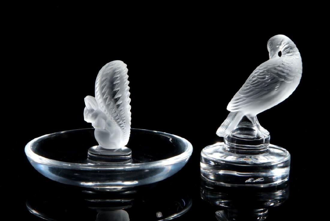 A COLLECTION OF LALIQUE CRYSTAL ITEMS - 6