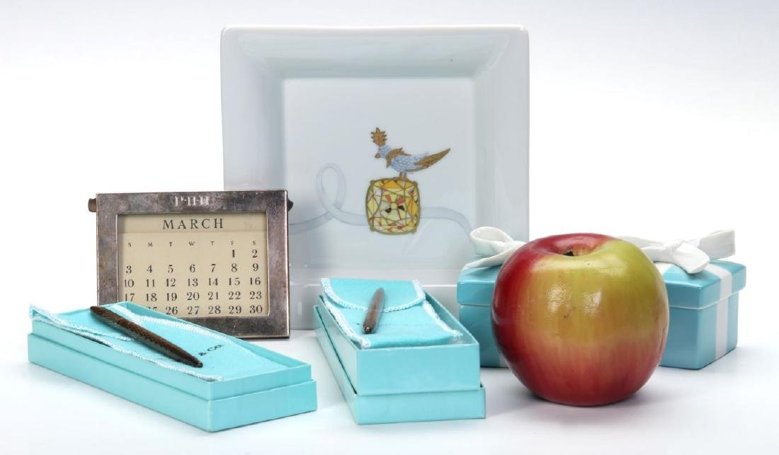 A COLLECTION OF ITEMS RETAILED BY TIFFANY & CO - 2