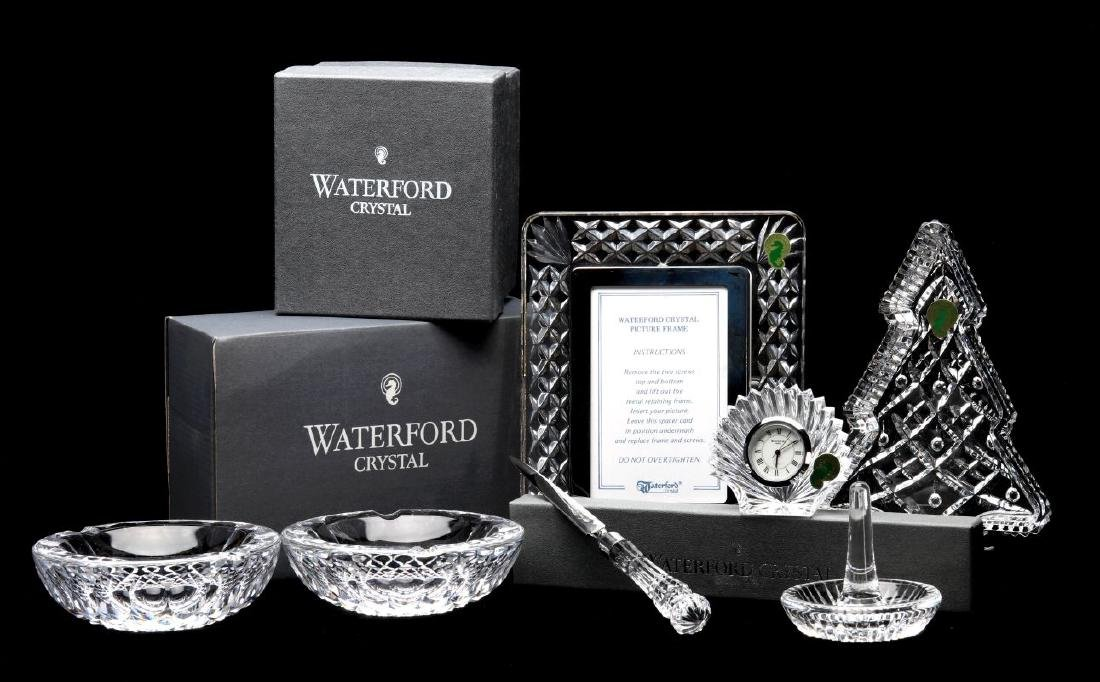 A COLLECTION OF WATERFORD CRYSTAL GIFT ITEMS
