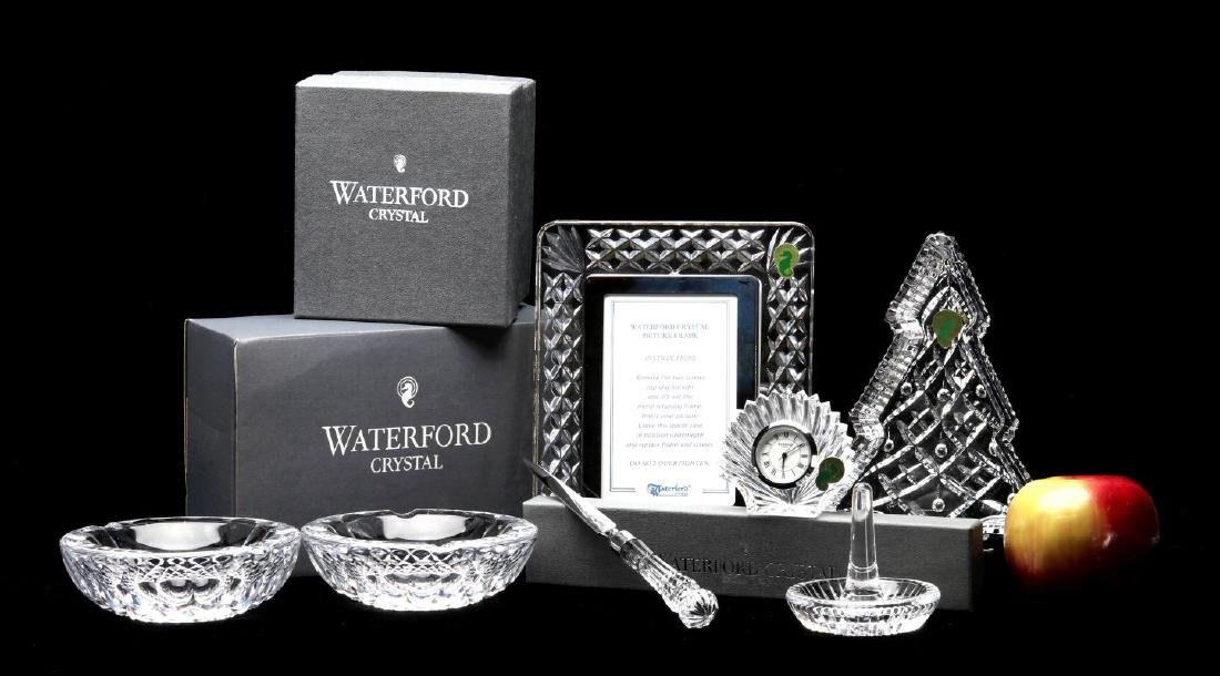 A COLLECTION OF WATERFORD CRYSTAL GIFT ITEMS - 2