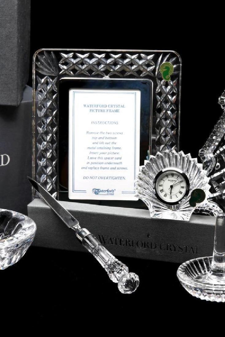 A COLLECTION OF WATERFORD CRYSTAL GIFT ITEMS - 4
