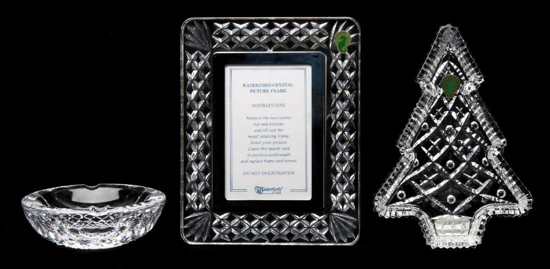A COLLECTION OF WATERFORD CRYSTAL GIFT ITEMS - 6