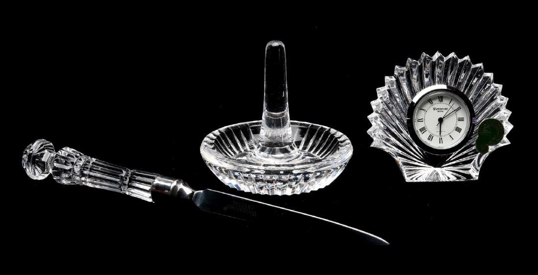 A COLLECTION OF WATERFORD CRYSTAL GIFT ITEMS - 9
