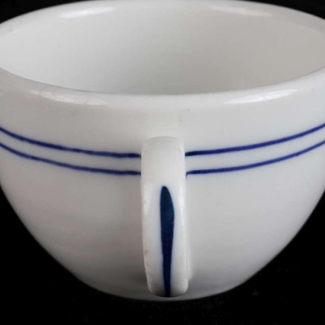 AT&SF BLEEDING BLUE BULLION CUP AND SAUCER - 3