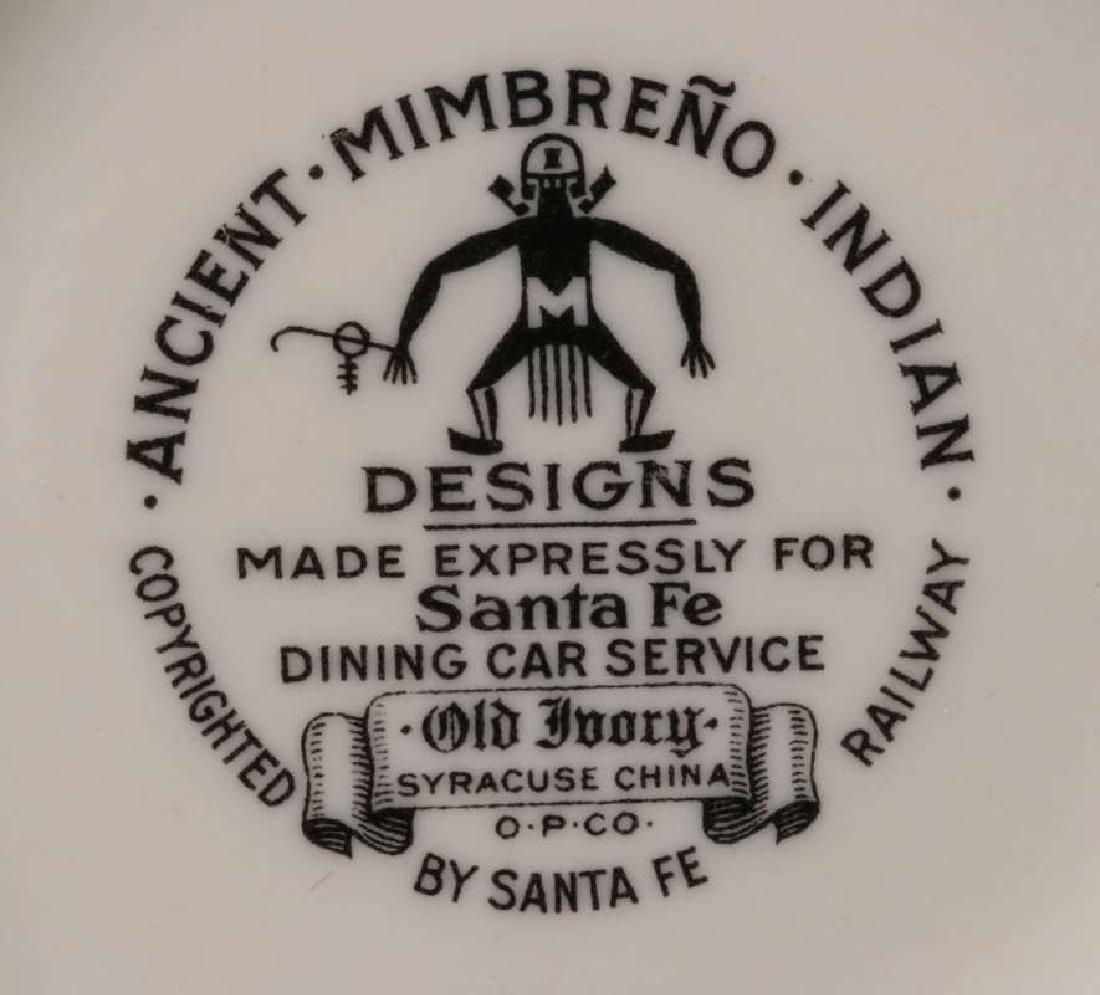 AT&SF SANTA FE RR MIMBRENO CHOCOLATE POT - 10