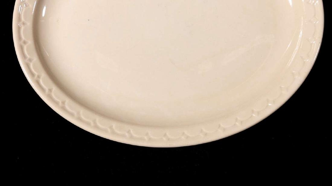 TWO AT&SF SANTA FE RR ADOBE OVAL PLATTERS - 5