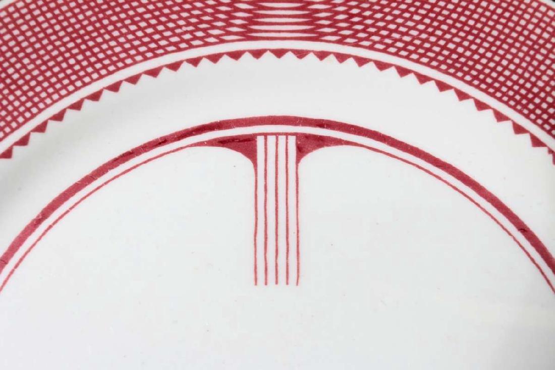 AT&SF SANTA FE RR MIMBRENO DINNER PLATE - 2
