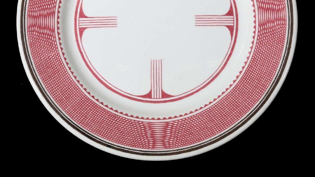 AT&SF SANTA FE RR MIMBRENO DINNER PLATE - 5