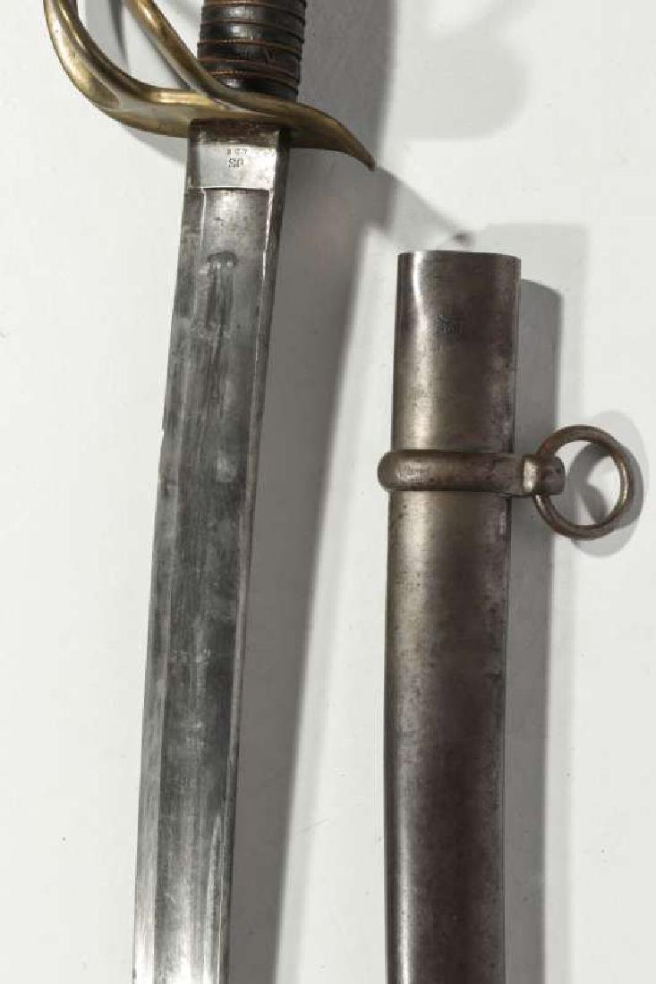 US ARMY M-1864 SWORD AND SCABBARD - 3