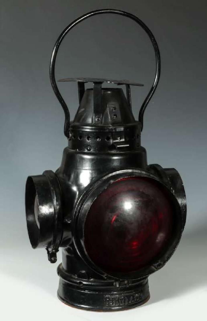 AT&SF SANTA FE RAILROAD SWITCH LAMP