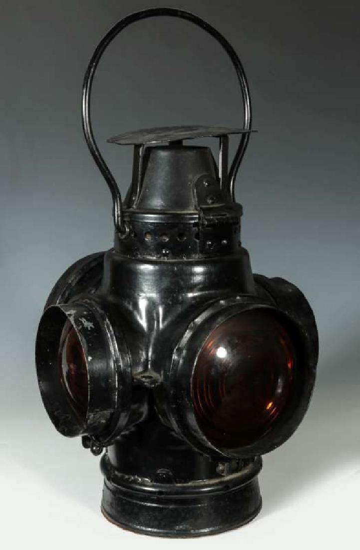 AT&SF SANTA FE RAILROAD SWITCH LAMP - 5