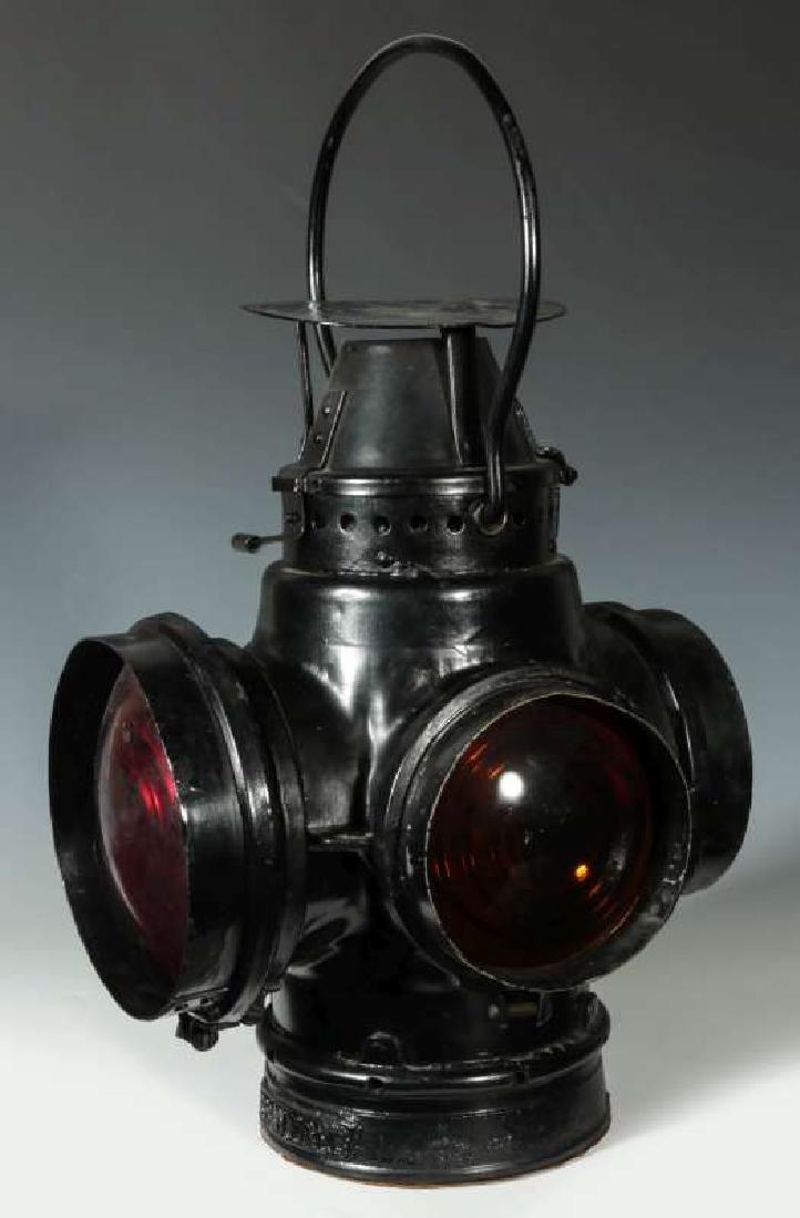 AT&SF SANTA FE RAILROAD SWITCH LAMP - 6