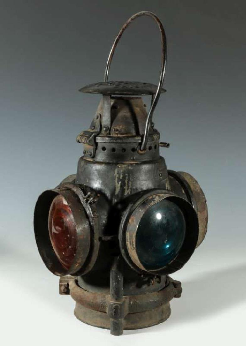 AT&SF SANTA FE RAILROAD ADLAKE SWITCH LAMP