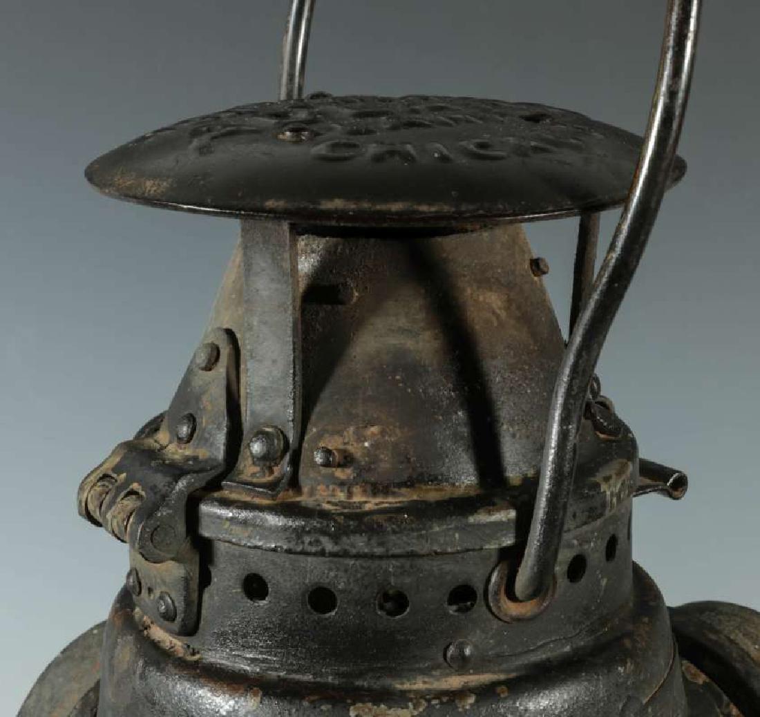 AT&SF SANTA FE RAILROAD ADLAKE SWITCH LAMP - 2