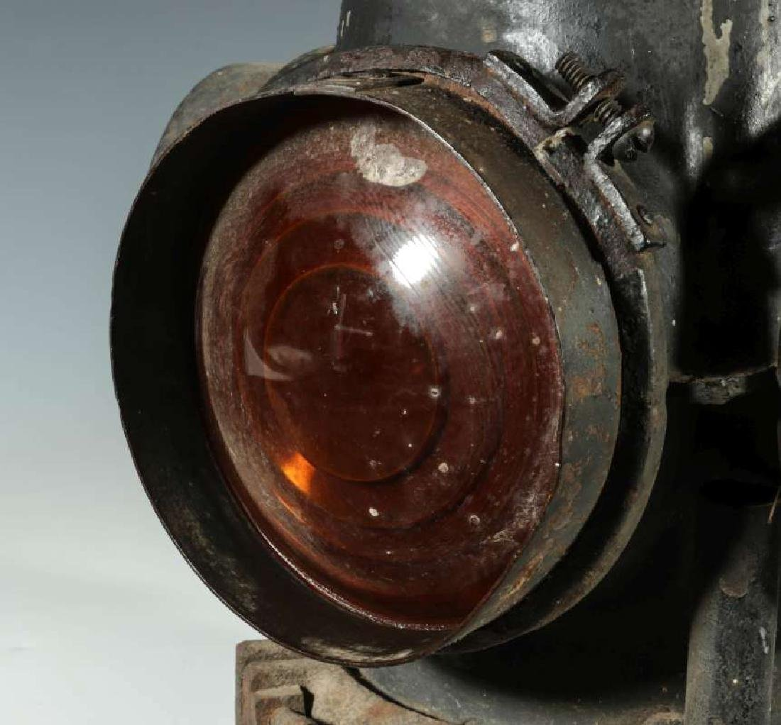 AT&SF SANTA FE RAILROAD ADLAKE SWITCH LAMP - 4