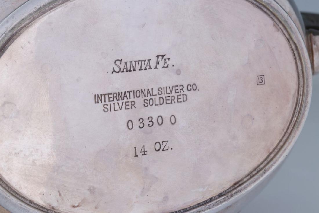 AT&SF SANTA FE RR REED & LEAF SUGAR & CREAMER - 9