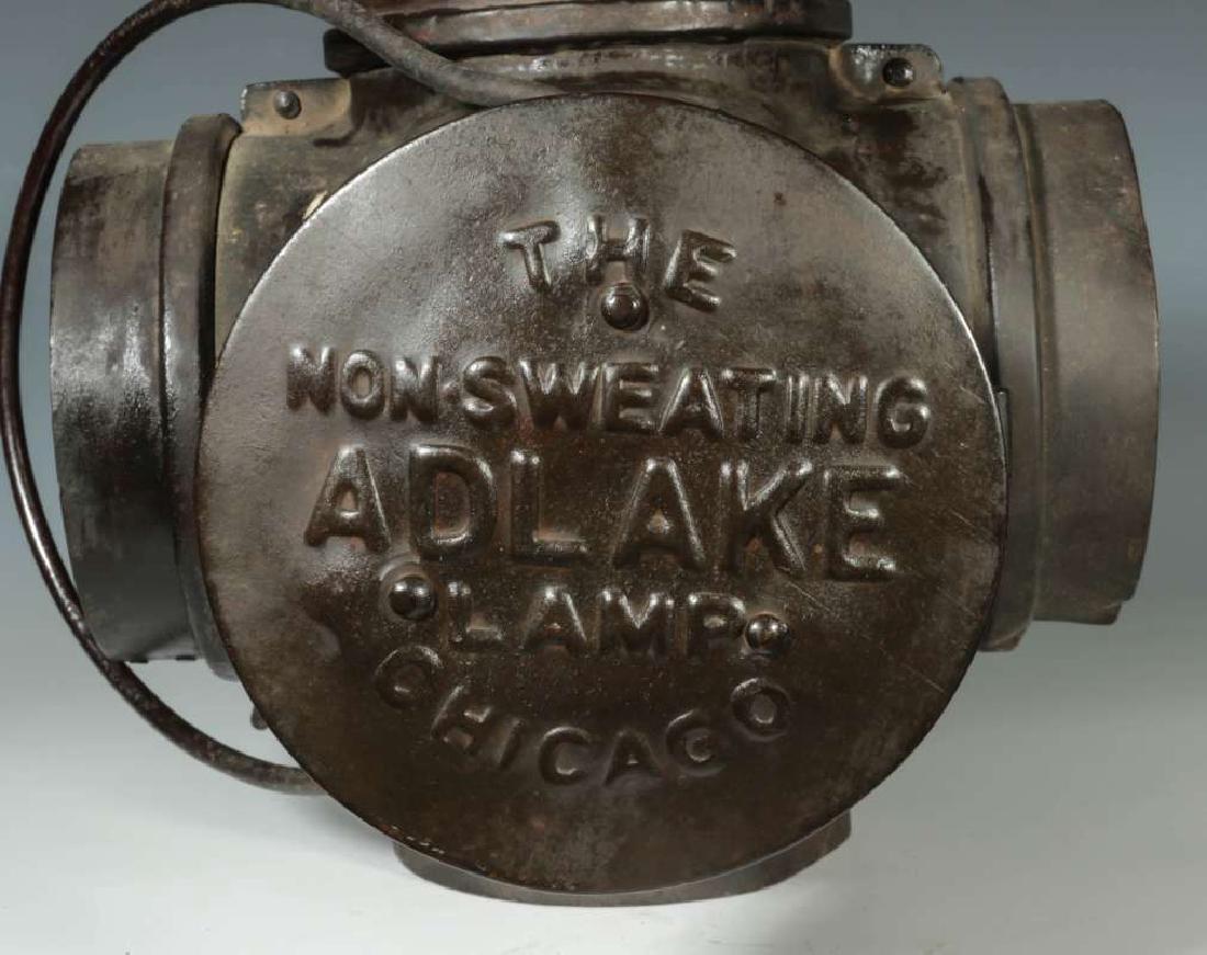 AN AT&SF SANTA FE RR ADLAKE SWITCH LAMP - 10