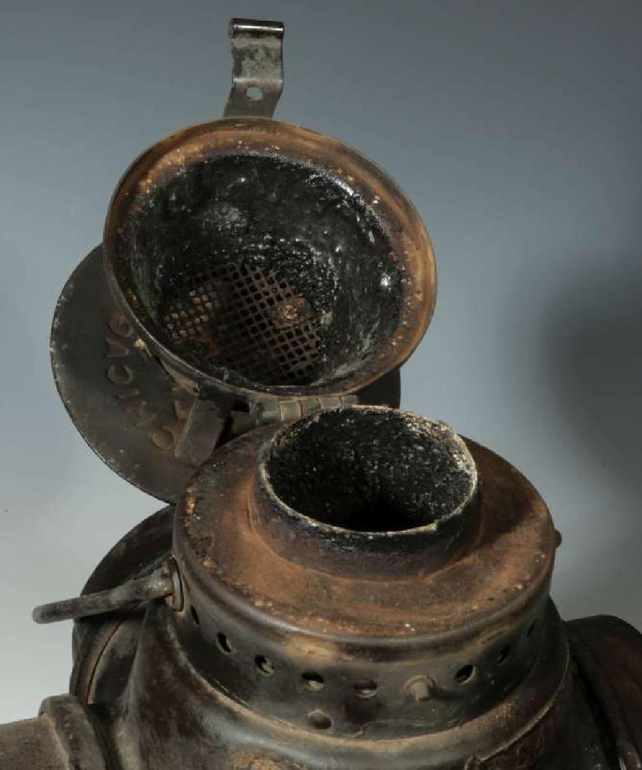 AN AT&SF SANTA FE RR ADLAKE SWITCH LAMP - 11