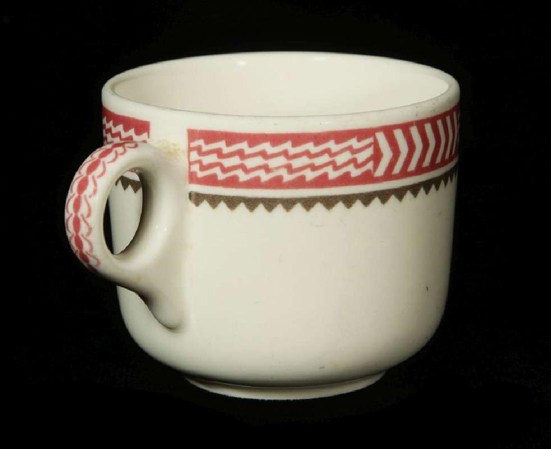 AT&SF SANTA FE RR MIMBRENO COFFEE CUP AND SAUCER - 8