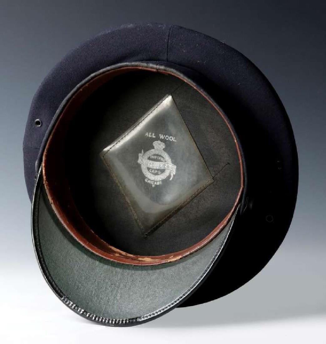 AN AT&SF SANTA FE RR BRAKEMAN VISOR CAP - 8