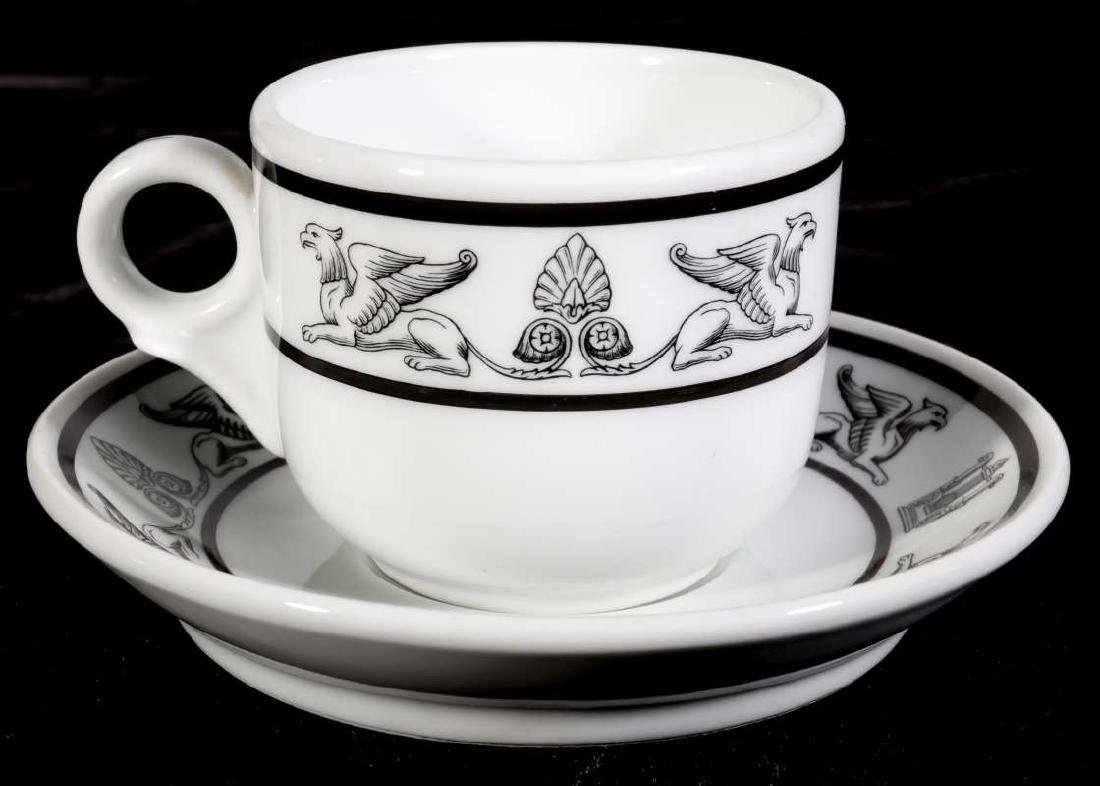 AT&SF SANTA FE RR GRIFFON COFFEE CUP AND SAUCER