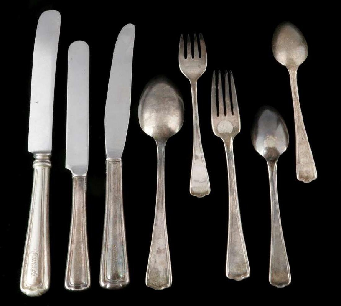 SANTA FE RAILROAD / FRED HARVEY CROMWELL FLATWARE - 6